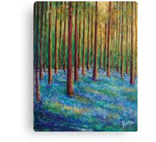 Bluebells in the Midst Canvas Print