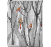 orange birds iPad Case/Skin