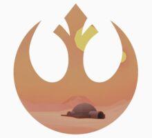 Star Wars - Rebel Tatooine Base One Piece - Long Sleeve