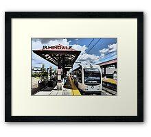 Light Rail to Irwindale Framed Print