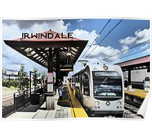 Light Rail to Irwindale Poster