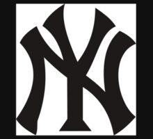 New York Yankees One Piece - Long Sleeve