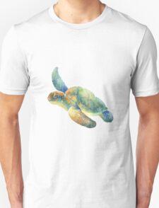 Watercolor Sea Turtle Unisex T-Shirt