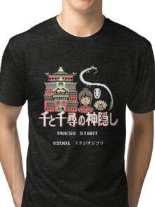 Pixeled Away! Tri-blend T-Shirt