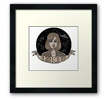 "Scully ""The Truth Is Out There"" Framed Print"