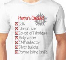 Hunter's Checklist Unisex T-Shirt