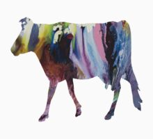 Guernsey cow One Piece - Long Sleeve