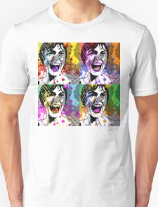 Alfred Hitchcock's Psycho Janet Leigh Pop Art T-Shirt