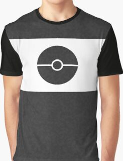 Pokemon CAMO Black Graphic T-Shirt