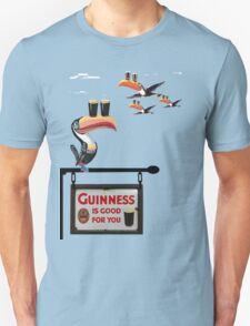 GUINNESS PUB SIGN WITH TOUCAN T-Shirt