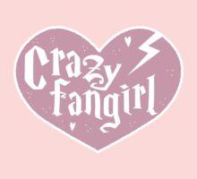 CRAZY FANGIRL cute heart One Piece - Short Sleeve