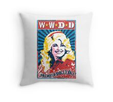 Dolly Parton. What Would Dolly Do? Nashville Country Music Throw Pillow