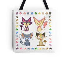 Cat Pokemon (Plus) Tote Bag