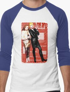 Absolutely Fabulous, Sweetie! Darling! Patsy and Edina. Ab Fab typography quotes. abfab. BBC Men's Baseball ¾ T-Shirt