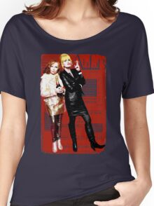 Absolutely Fabulous, Sweetie! Darling! Patsy and Edina. Ab Fab typography quotes. abfab. BBC Women's Relaxed Fit T-Shirt