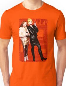 Absolutely Fabulous, Sweetie! Darling! Patsy and Edina. Ab Fab typography quotes. abfab. BBC Unisex T-Shirt