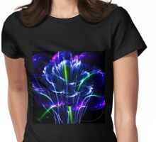 3d bloom in the grass Womens Fitted T-Shirt