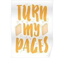TURN MY PAGES Poster