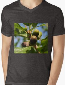 Acorn Mens V-Neck T-Shirt
