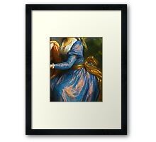 Historical Fashion old master abbreviated image Framed Print