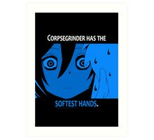 Quotes and quips - Mr Corpsegrinder Art Print