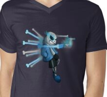 Wanna have a bad time? Mens V-Neck T-Shirt