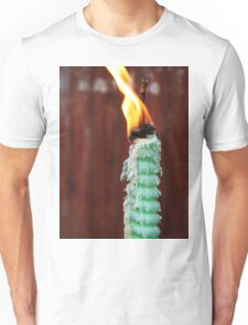 Candle and Flame Unisex T-Shirt