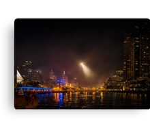 Night Search Canvas Print