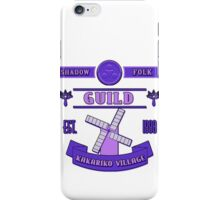Legend of Zelda - Kakariko Village Guild iPhone Case/Skin