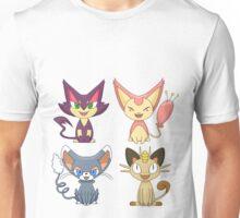 Cat Pokemon (Plain) Unisex T-Shirt