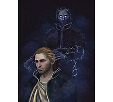 Anders and Justice Photographic Print