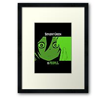 Quotes and quips - Soylent green Framed Print