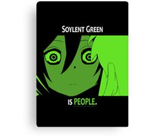 Quotes and quips - Soylent green Canvas Print