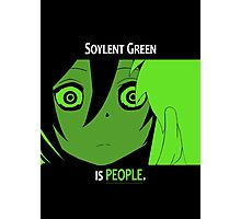 Quotes and quips - Soylent green Photographic Print