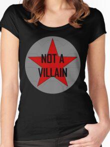 Not A Villain Women's Fitted Scoop T-Shirt