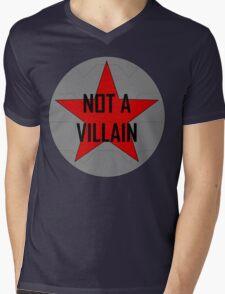 Not A Villain Mens V-Neck T-Shirt
