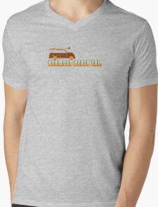Hermosa Beach - California. Mens V-Neck T-Shirt