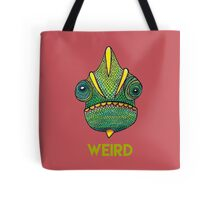 Weird Lizard Tote Bag