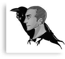Raven Boy Canvas Print
