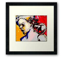 That little Devil on Your Shoulder Framed Print