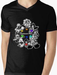 Undertale! Mens V-Neck T-Shirt