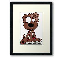 Dog Doctor Who Framed Print