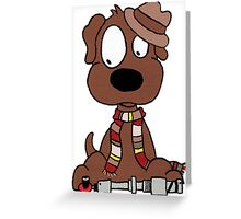 Dog Doctor Who Greeting Card