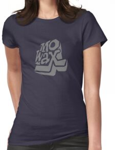 Record Label 3 (grey) Womens Fitted T-Shirt