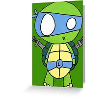 Kid Leonardo Greeting Card