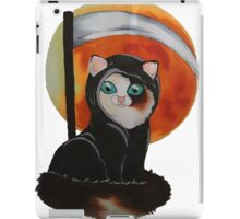 grim reaper kitten iPad Case/Skin