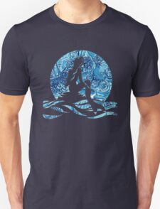 Lilly Pulitzer Inspired Mermaid (2) Dark N Stormy Unisex T-Shirt