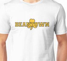Beantown (gold on white) Unisex T-Shirt