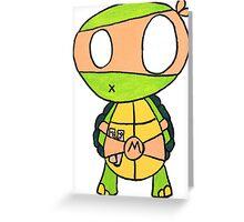 Kid Michelangelo Greeting Card