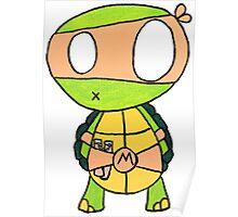 Kid Michelangelo Poster